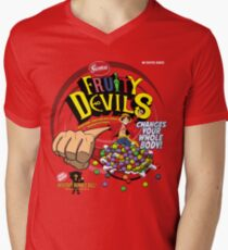 Gomu Fruity Devils Men's V-Neck T-Shirt
