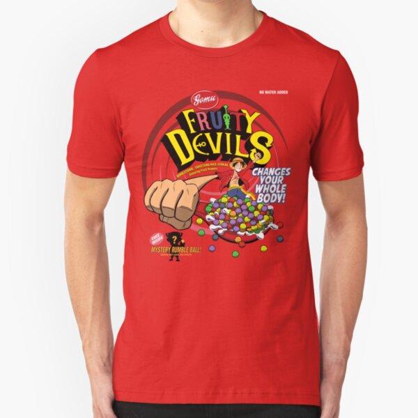 Gomu Fruity Devils Slim Fit T-Shirt