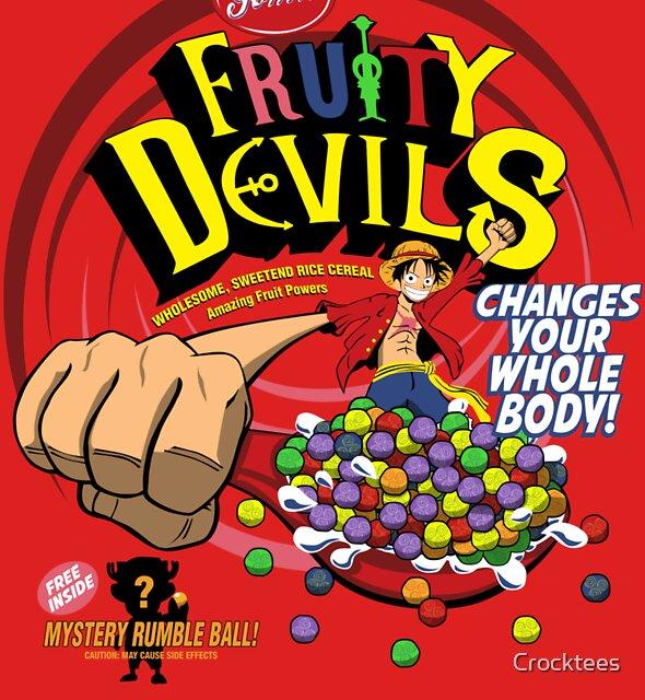 Gomu Fruity Devils by Crocktees