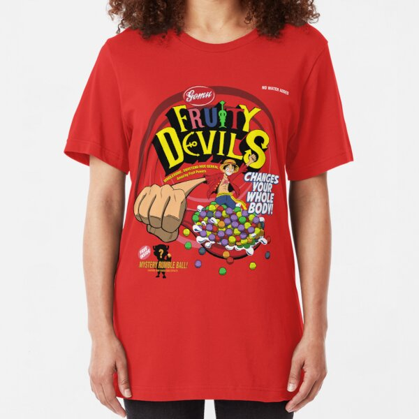 Gomu Fruity Devils Slim Fit T-Shirt