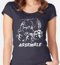 Herculoids Assemble Women's Fitted Scoop T-Shirt