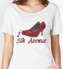 I LOVE 5TH AVENUE T-shirt Women's Relaxed Fit T-Shirt