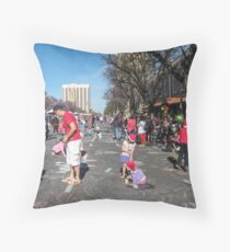 Waiting for the Christmas Pageant - Adelaide Throw Pillow
