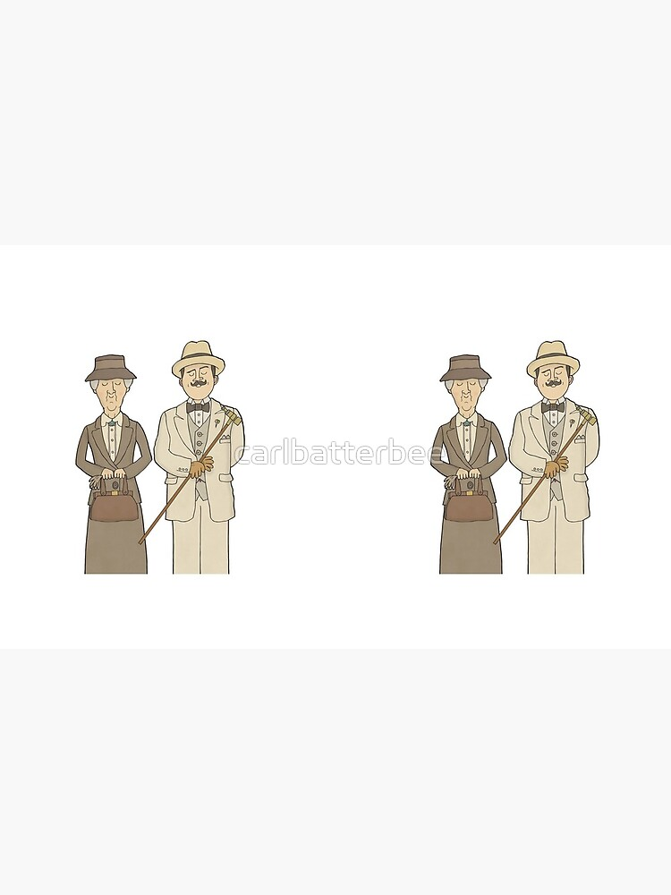 Marple and Poirot by carlbatterbee