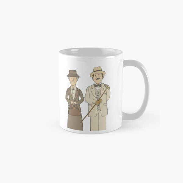 Marple and Poirot Classic Mug