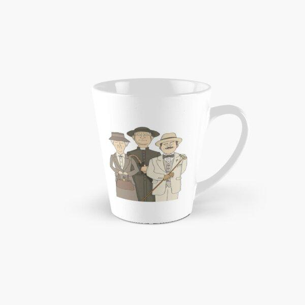 Poirot, Marple and Father Brown Tall Mug