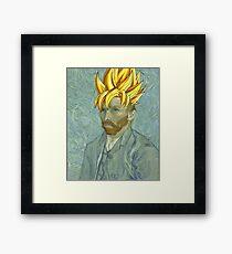 Vincent Van Goku Framed Print