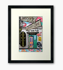 Glasgow West End Sights Framed Print