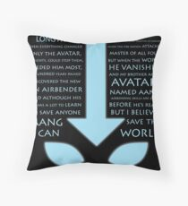 The Last Airbender  Throw Pillow