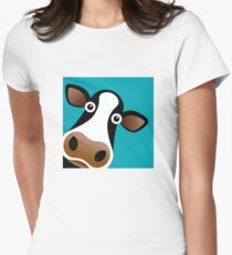 Moo Cow - T Shirt Women's Fitted T-Shirt