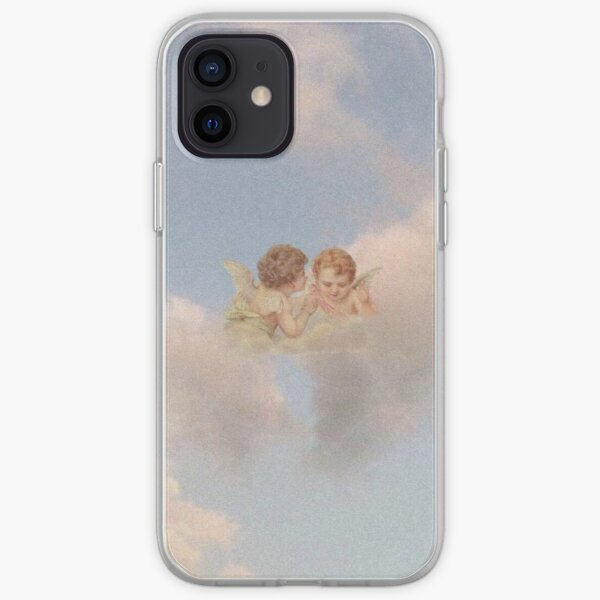 Renaissance angels in sky Cherubs Cupid iPhone Soft Case