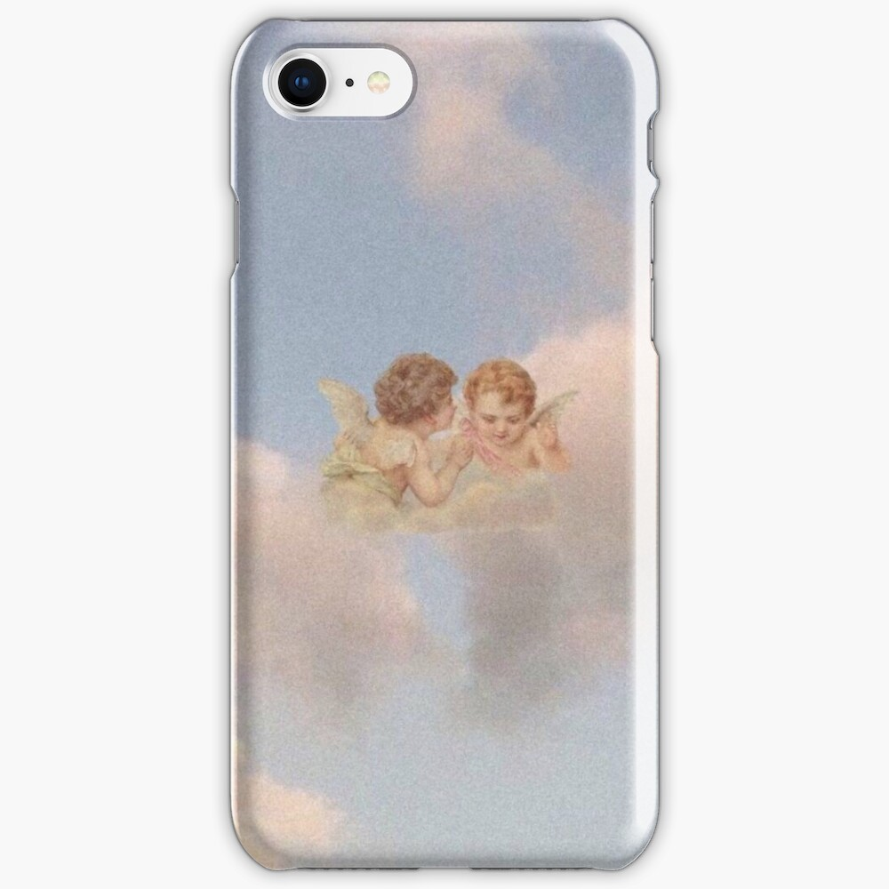 Renaissance angels in sky Cherubs Cupid iPhone Case & Cover