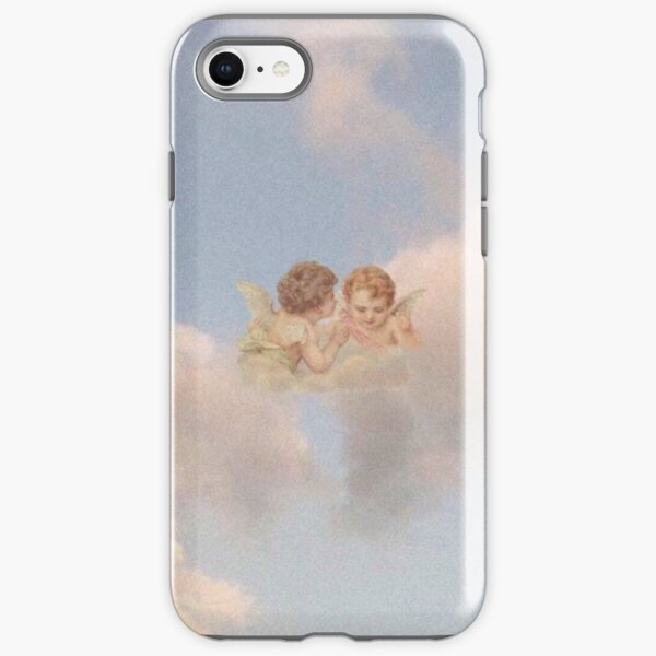 Renaissance angels in sky Cherubs Cupid iPhone Tough Case