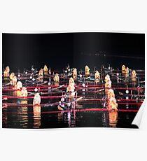 Light Show, Yangshuo, Guangxi Poster