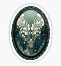 Antlers of Filigree Sticker