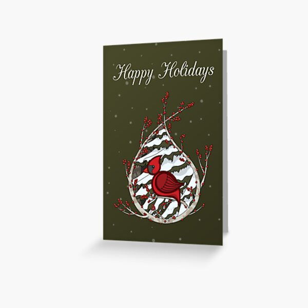 Alexander the Cardinal Greeting Card Greeting Card
