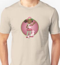 Strawberries in Pink Unisex T-Shirt