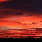 November Sunrise Over Darlington by Ian Alex Blease