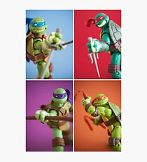 Heroes In A Half Shell  Photographic Print