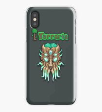 Terraria Moon Lord Head iPhone Case