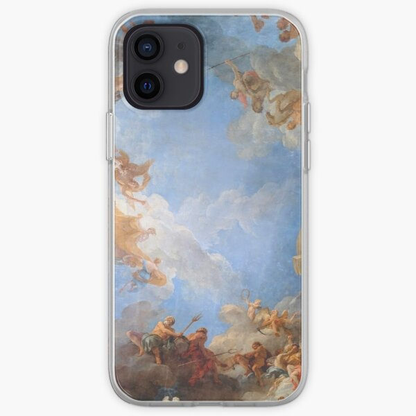 Fresco of Angels in the Palace of Versailles iPhone Soft Case