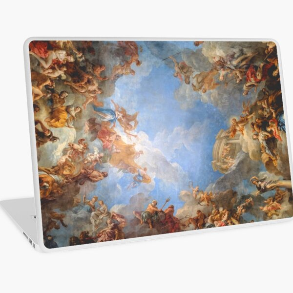 Fresco of Angels in the Palace of Versailles Laptop Skin