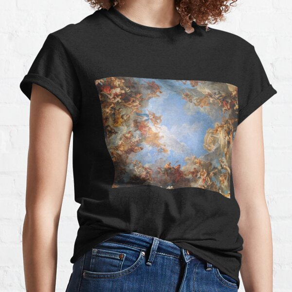 Fresco of Angels in the Palace of Versailles Classic T-Shirt