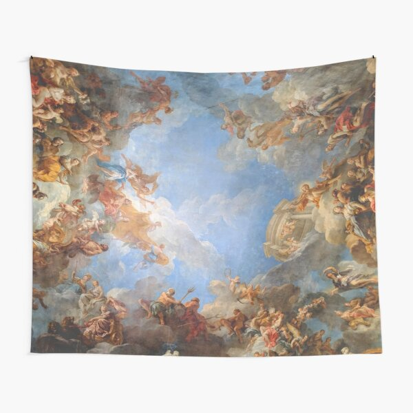 Fresco of Angels in the Palace of Versailles Tapestry