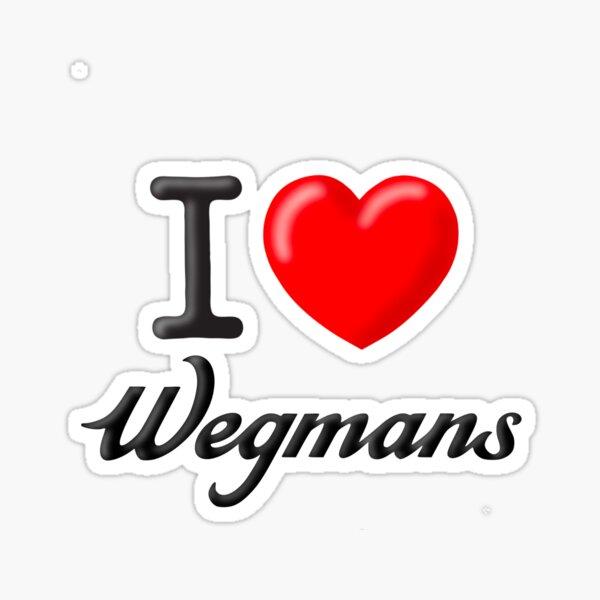 I Heart Wegmans Sticker