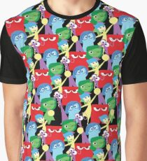 Inside Out Pattern Graphic T-Shirt