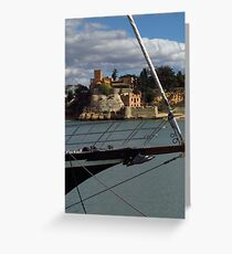 Fort of Sao Joao do Arcade Greeting Card
