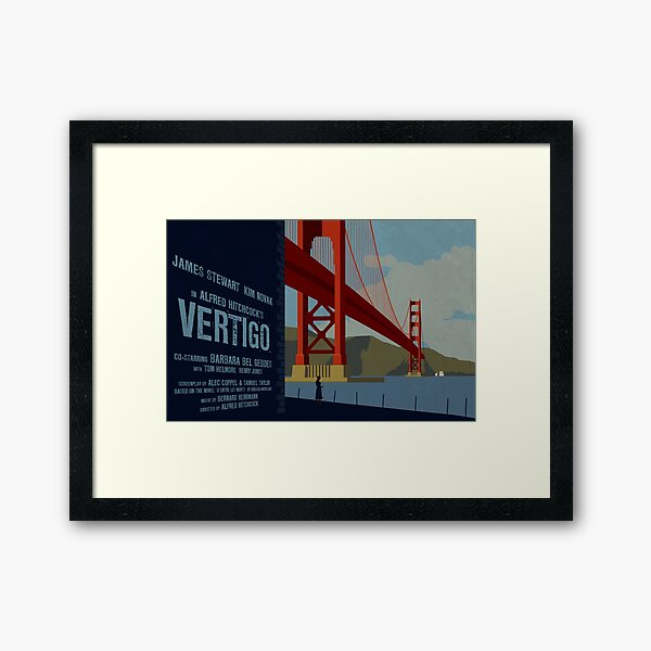 Vertigo-Golden Gate Framed Art Print