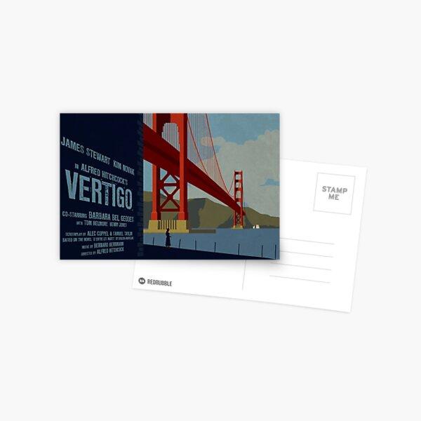 Vertigo-Golden Gate Postcard