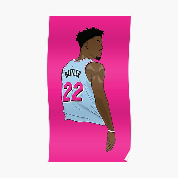 Maillot Jimmy Butler 22 ViceWave Poster