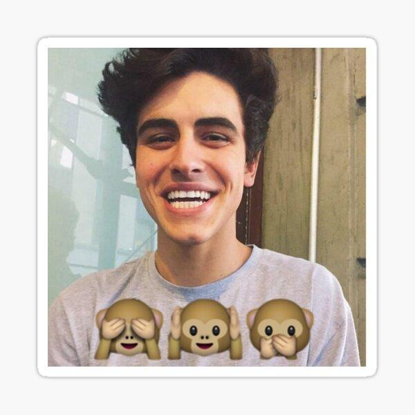 Jack Gilinsky Monkey Emoji Sticker