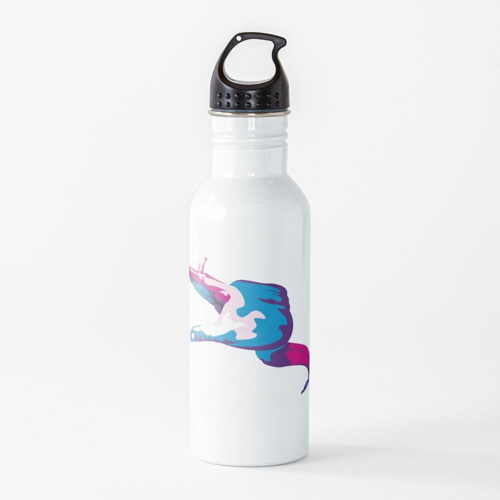 Moray Eel Hand Signal Water Bottle