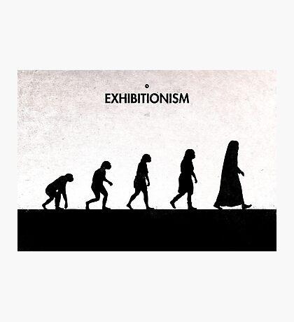 99 Steps of Progress - Exhibitionism Photographic Print