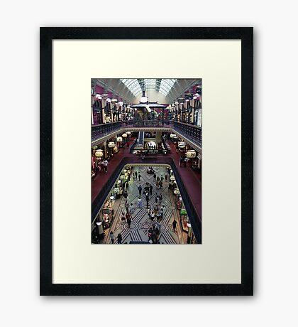 Queen Victoria Building Framed Print