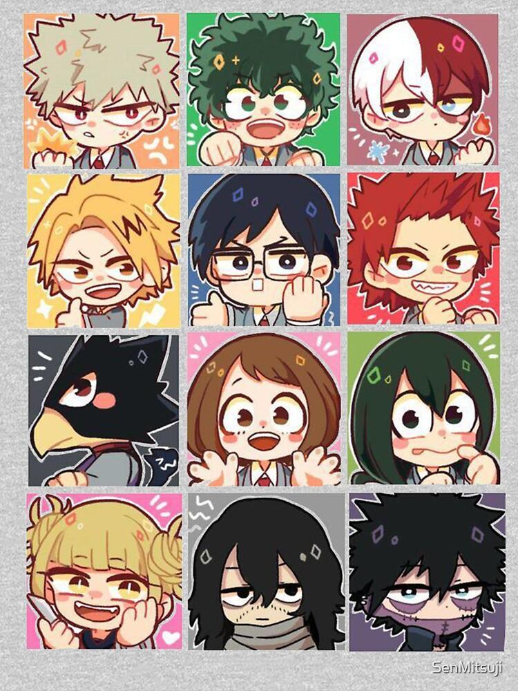 My Hero Academia Elites of Class 1A by SenMitsuji
