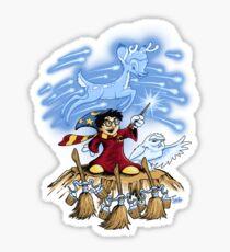 The Wizard's Apprentice Sticker