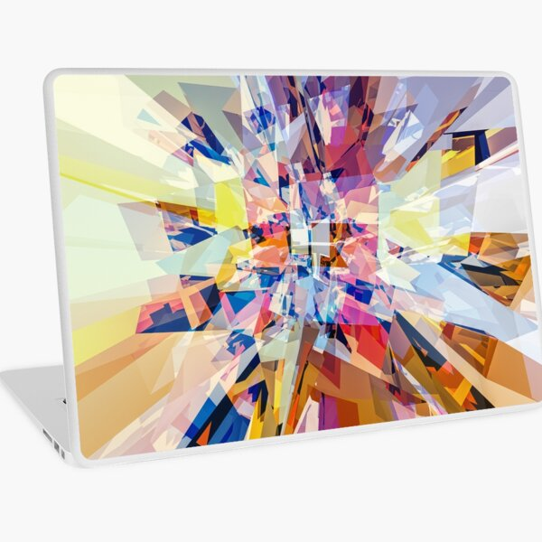 Geometry of Color Laptop Skin