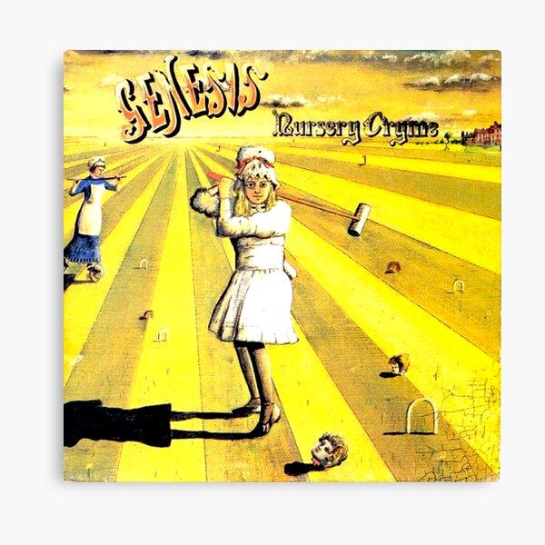 Classic, Rock, Prog, 1971, Genesis, Nursery Crime, Happy The Man, Seven Stones, Throwback, Peter, Gabriel,  Canvas Print