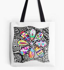 Groovy Flower Tote Bag