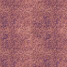 Purple Micro Dots on Grunge Pink by pjwuebker