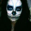 Lady Gaga Born This Way Skull Make-up by Kaila Quint
