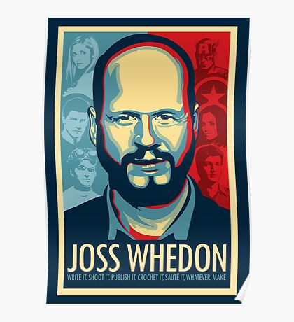 Joss Whedon Is My Master Now Poster