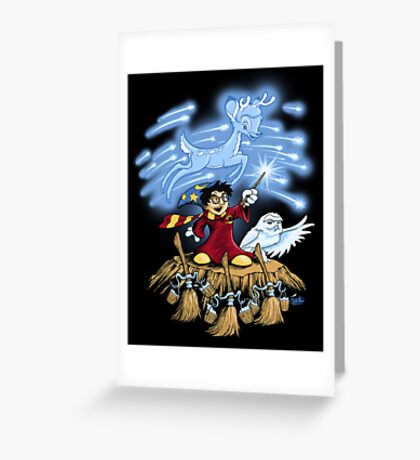 The Wizard's Apprentice Greeting Card
