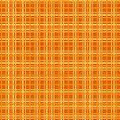 Orange and Yellow Plaid by pjwuebker