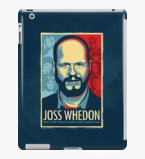 Joss Whedon Is My Master Now iPad Case/Skin