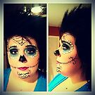 Halloween make-up by Kaila Quint